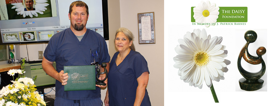 Daisy Award 2019 Recipient Brandon Barrilleaux, RN, BSN